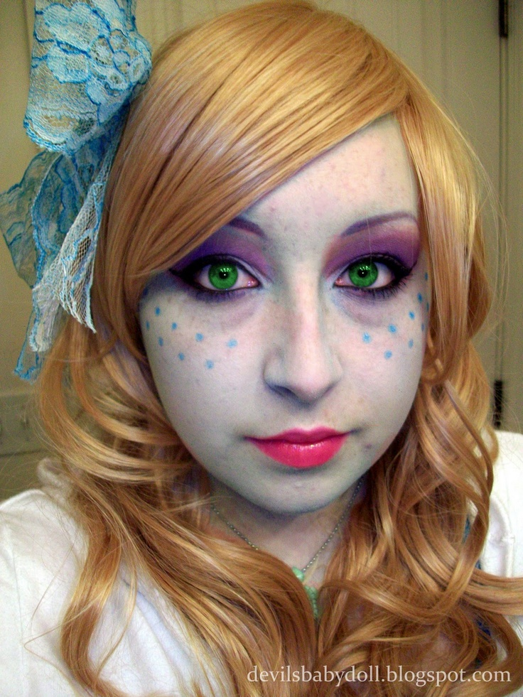 17 Best Images About Monster High Face Painting On Pinterest | Costume Makeup Tutorial Costume ...