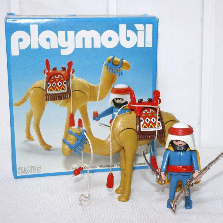3586 touareg avec chameau vintage playmobil - Play-Original