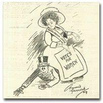 Suffragettes on BBC website