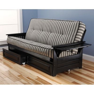 Phoenix Cozumel Futon and Mattress Frame Finish: Black - http://delanico.com/futons/phoenix-cozumel-futon-and-mattress-frame-finish-black-589551342/