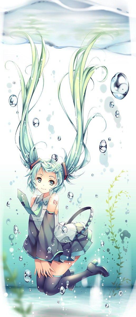anime hatsune miku vocaloid