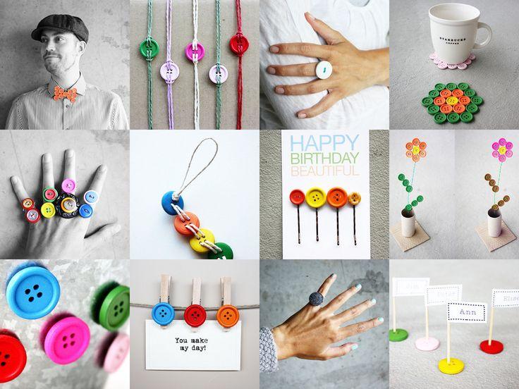 16 DIY Button Ideas | Morning Creativity
