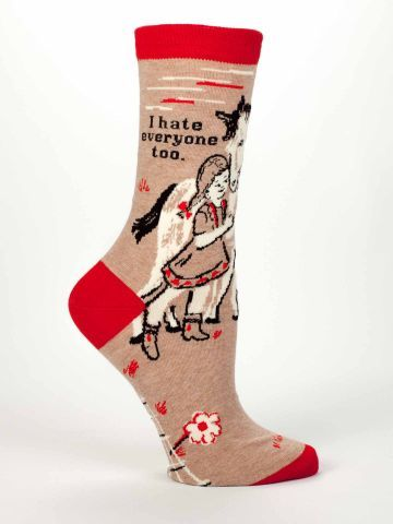 These make me smile :) | www.blueq.com. These socks are a trip and a portion of the sales go to Doctors without Borders.