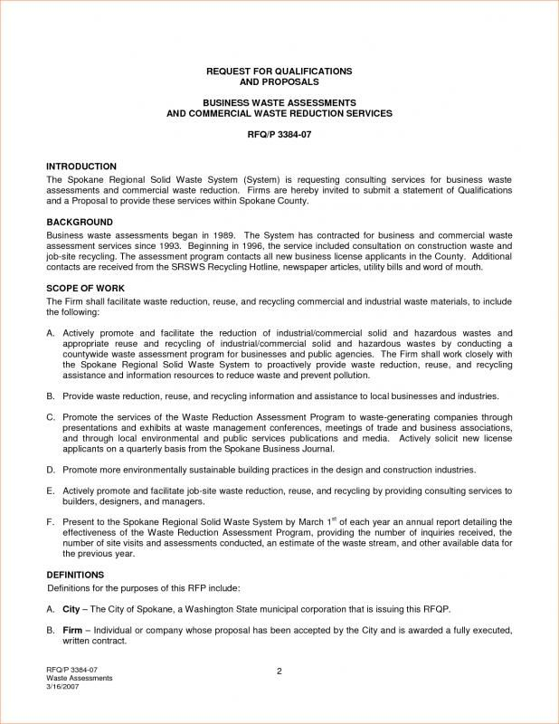 Proposal For Services template Pinterest Proposals and Template - work contract template
