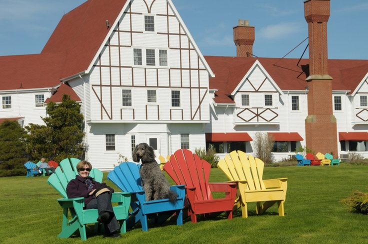 Keltic Lodge in Ingonish Beach, Cape Breton.