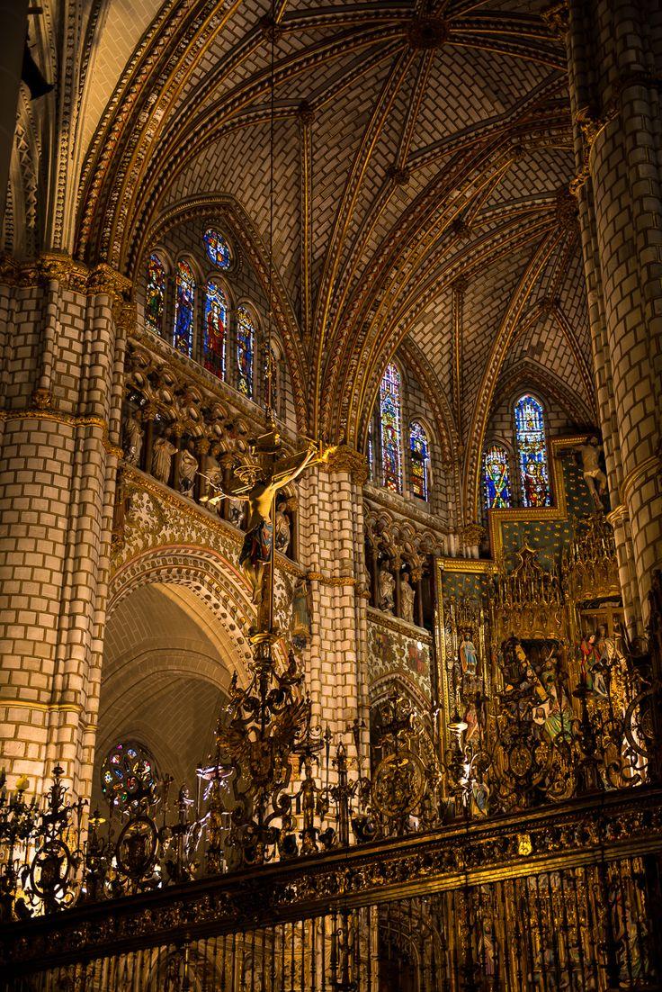 Crucifix, Cathedral, Toledo, Spain -
