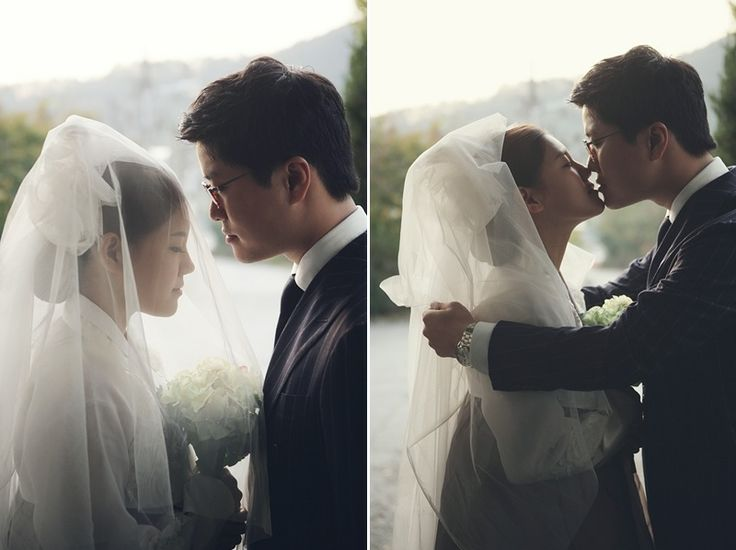 Hanbok + veil