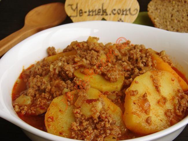 Kıymalı Patates Yemeği Tarifi (Resimli Anlatım) | Kolay ve Pratik Res