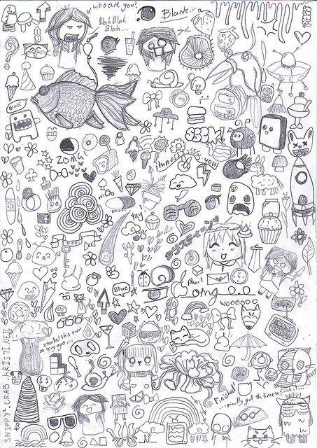 64 best art making marks exploring the doodle images on for Random sketch ideas