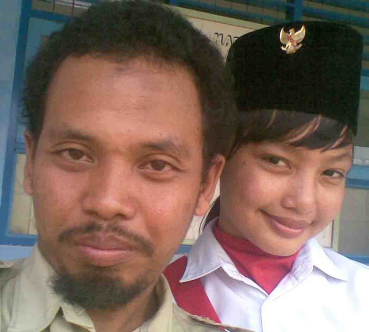 with my teacher