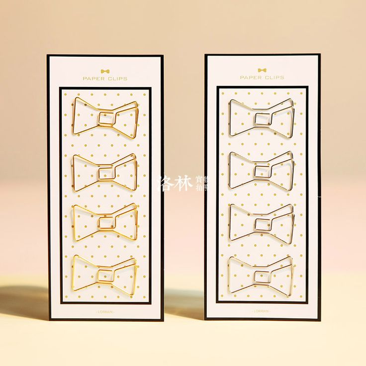 Free shipping cute paperclip book mark Bow clip diy accessories bookmark bookend clip metal paper clip gold silver paper clips