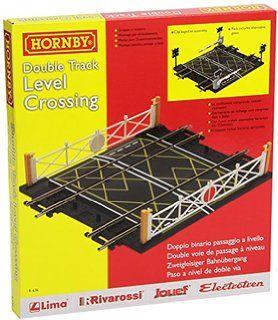 Hornby R636 - Passaggio a Livello Binario Doppio