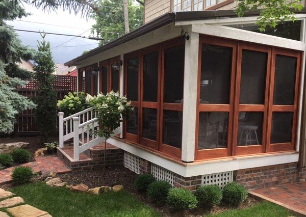 Porch Panel Enclosures With Screen Glass For Craftsman Style Homes Yesteryear S Vintage Door Traditional Porch Screened Porch Designs Craftsman Style Homes