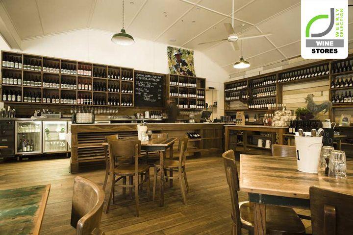 Внутренний дизайн винного магазина-кафе в Австралии