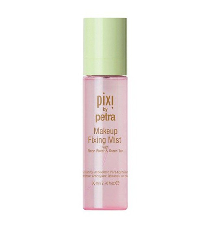 DUPE for Urban Decay All Nighter Long-Lasting Setting Spray, Pixi By Petra Makeup Fixing Mist, $15; at Target