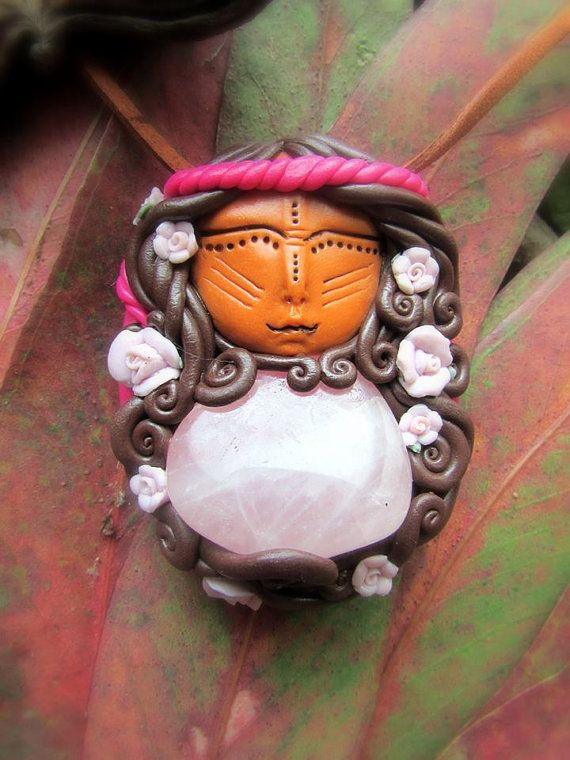 Mãe d ' Água Crystal ~ goddess of the heart chakra, water element, stone of mothers
