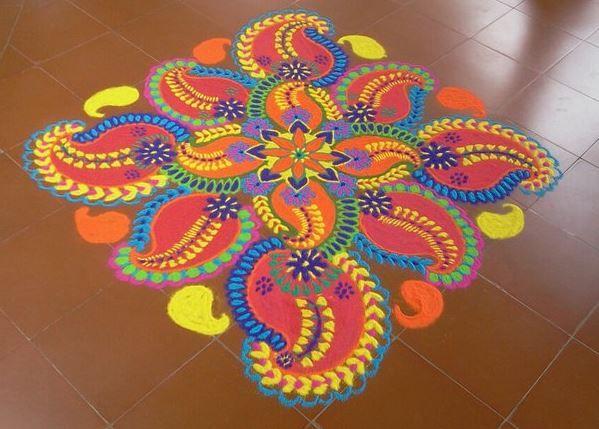 Beautiful Rangoli Designs for Holi