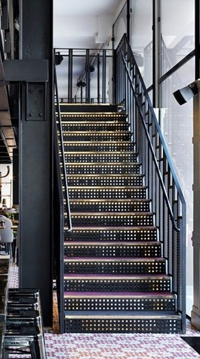 14 best images about escaliers on pinterest bretagne stairs and photos - Escalier metal industriel ...
