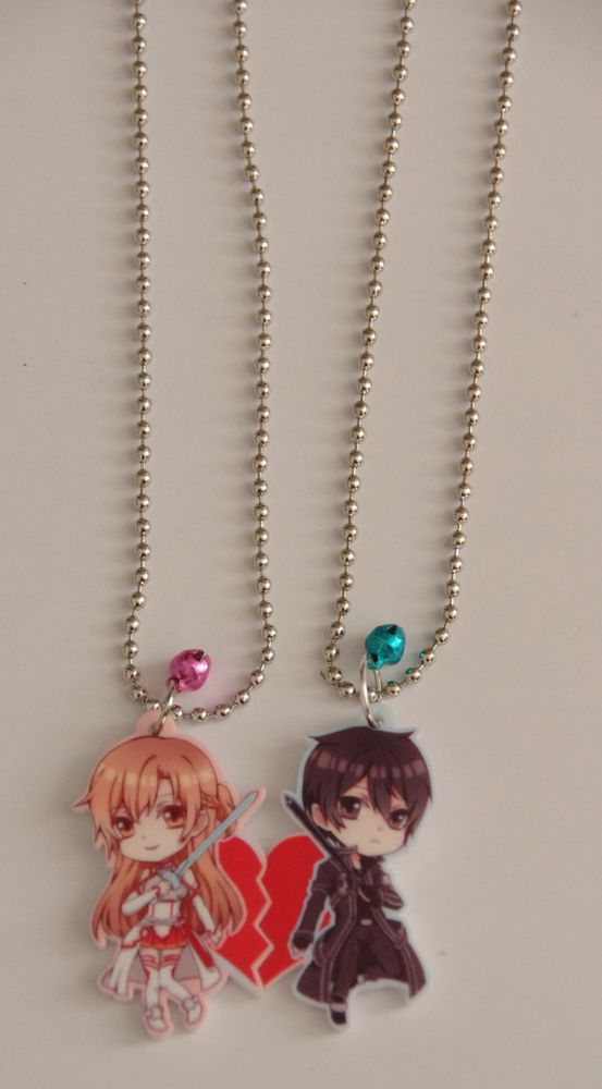Couple Sword Art Online Necklace! Super cute!!/ update: i actually just bought the set... =)
