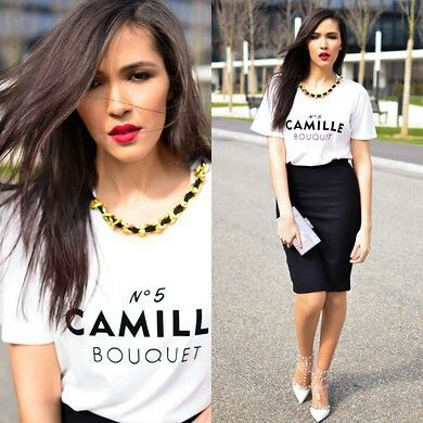 46 best images about T-Shirt & A Pencil Skirt (new work uni) on ...