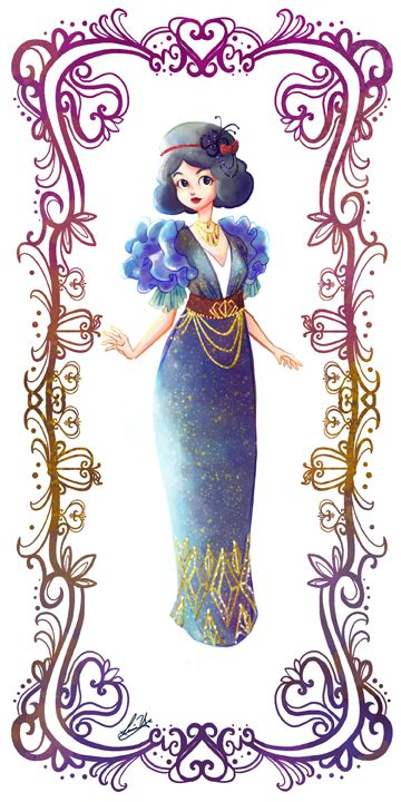 Deco Disney: Snow White by Lorraine Yee