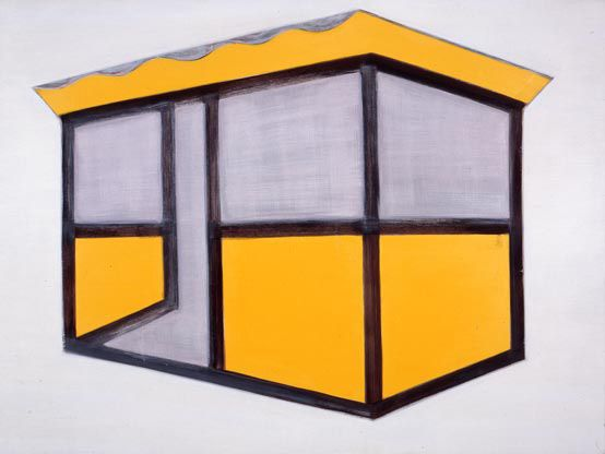 Robert Zandvliet, Untitled, 1994 egg tempera and oil paint on canvas 203 x 270 cm