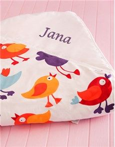 9 best personalised baby gifts images on pinterest south africa personalised gifts baby personalised baby picnic blanket birds negle Choice Image