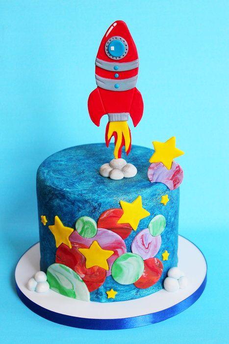 Celestial Celebration. - by ManBakesCake @ CakesDecor.com - cake decorating website