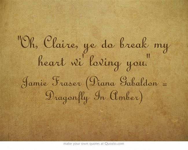 Favorite Outlander Series Quotes