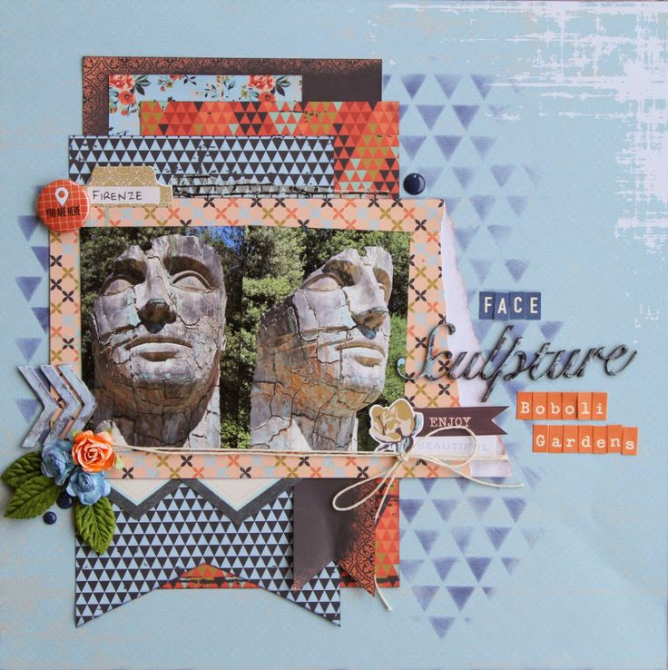 All About Scrapbooks - Kaisercraft Blubelle Collection - by Fiona Johnstone