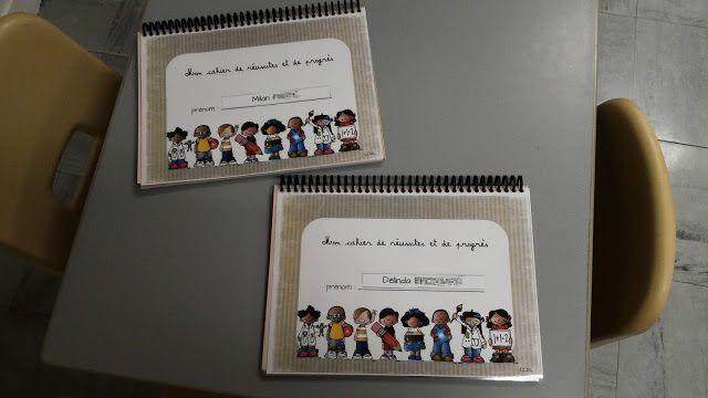La maternelle de Laurène: Cahier de réussites et de progrès