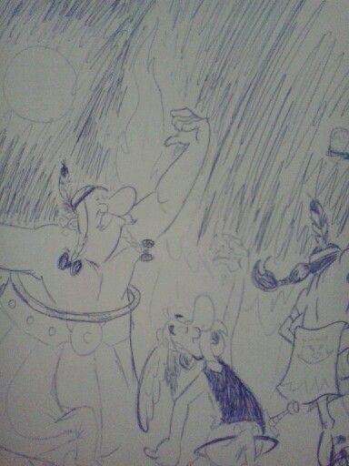 Asterix y Obelix:-)