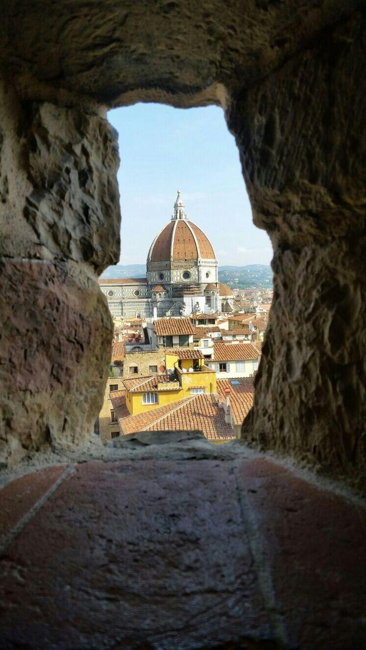Con Nando e Manu... in cima a Firenze♡