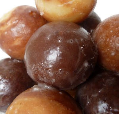 Donut Holes with Cake Pop Maker; various recipes
