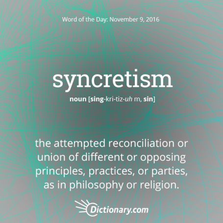 syncretism in the Trump Presidency