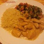 Cous cous con verdure e pollo al curry