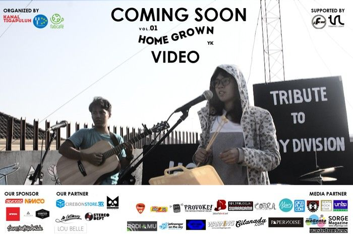 Video Homegrown Vol.1 Jogja Dirilis 14 Juli 2015