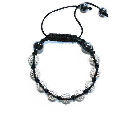 Men's and Women's Moon Shamballa Bracelet - Venture Collection - Online Fashion Accessories Store with Free Shipping