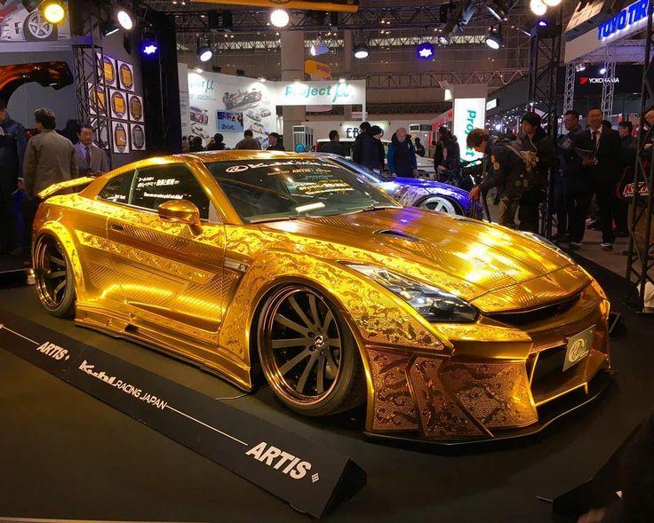 Kuhl GTR allgoldeverything kuhlracing gold R35 fortknox
