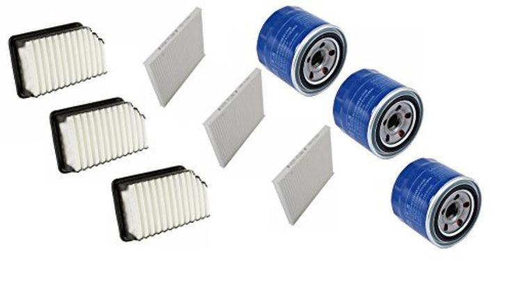 Cabin Air Filter Oil Filter Set 9 Pack for Kia Hyundai - Brought to you by Avarsha.com