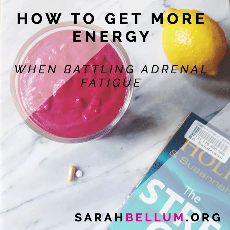 Whether you're under chronic stress or fighting adrenal fatigue, get my top tips for getting more energy and recovering from burnout.