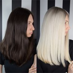 DRAMATIC MAKEOVER: 2 Sessions To Bright Blonde - Hair Color - Modern Salon