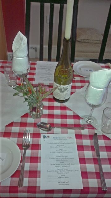 French Bistro Table Setting For Supper Club For 20 In 2019