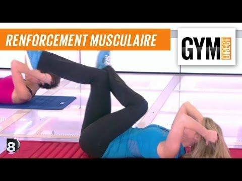 Cours gym : renfort musculaire 5 : Cuisses & abdos - YouTube