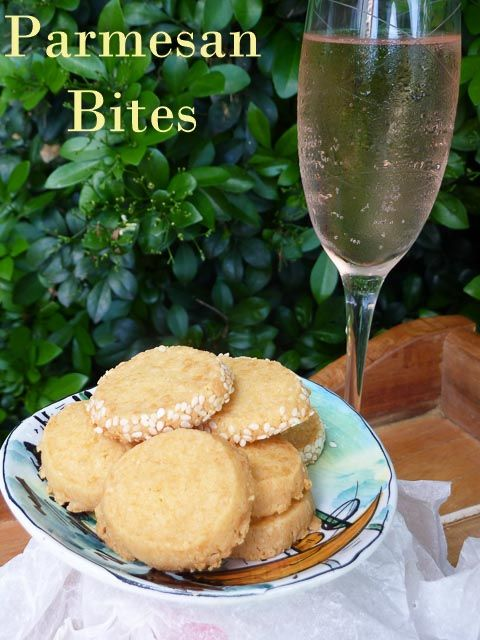 Make it for Christmas: Parmesan Bites for Summer Drinks * Get the recipe at TIFFIN - bite sized food adventures -
