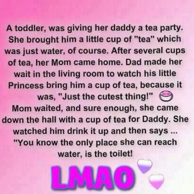 Ha haLittle Girls, Teas Time, White Lion, Too Funny, Funny Quotes, Funny Stuff, So Funny, Daddy Daughters, Teas Parties