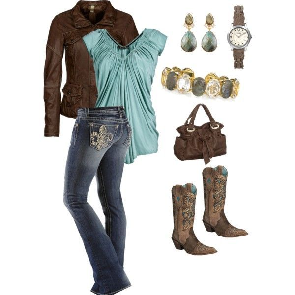 country girl fashion | Country Girls Night Out | Fashion... Clothes, Jewelry & Accessories