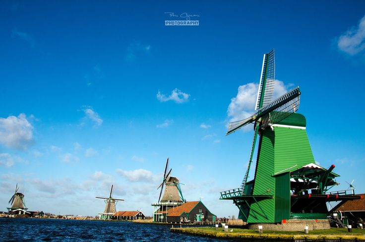 Windmills in Netherlands by Petru Cojocaru on 500px