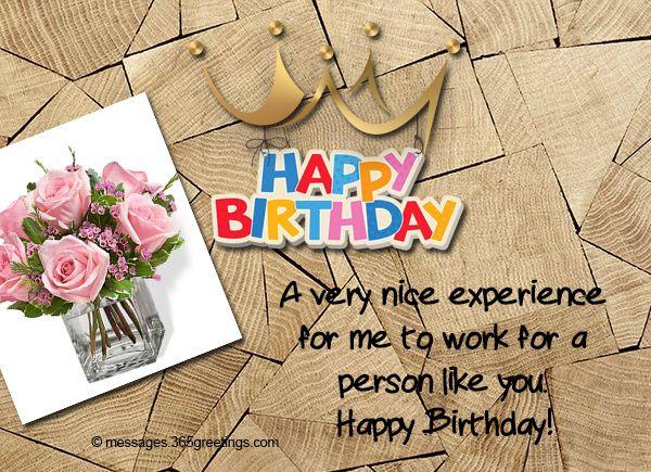 V ce ne 25 nejlep ch n pad na Pinterestu na t ma Birthday – Birthday Card Messages for Boss