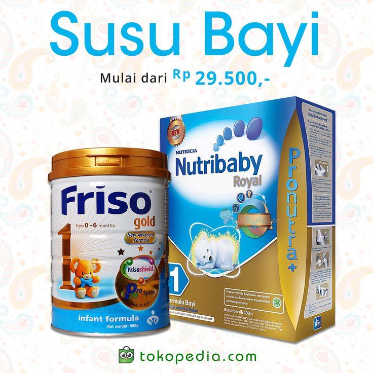 Temukan Susu Bayi aneka merk, murah mulai dari Rp 29.500,- di https://www.tokopedia.com/p/perawatan-bayi/makanan-susu-bayi/susu
